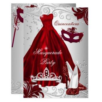 2 Burgundy Silver Dress masquerade