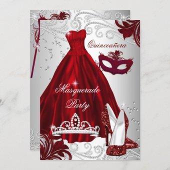 2 Burgundy Silver Dress masquerade
