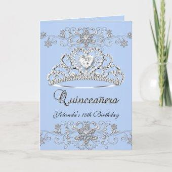 3 Folded  Blue Glitter Tiara Photo