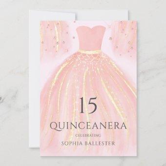 Beautiful Blush Pink Mermaid Dress