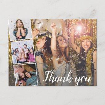 Birthday Thank You Photo Collage Any Year Post