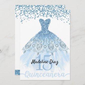 Blue Cinderella Birthday