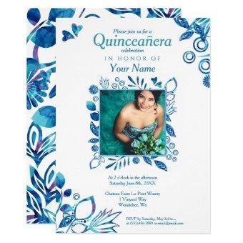 Blue Crystal Quinceañera, Cinderella