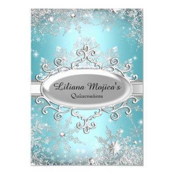 Blue Crystal Snowflake Princess