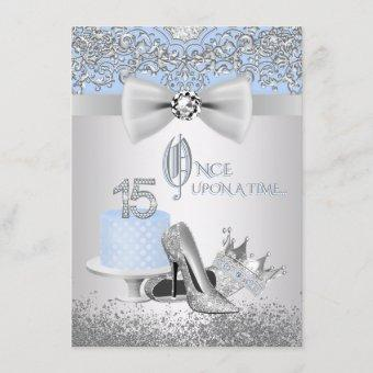 Blue Silver Princess
