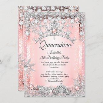 Blush Pink 15th Winter Carriage
