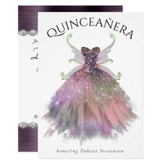 Bohemian Glamour Gown and Fairy Wings