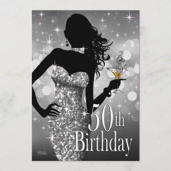 Bring the Bling Sparkle 50th Birthday | silver