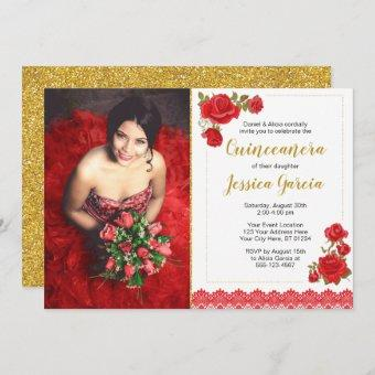 Charro Quinceañera   Roses and Lace