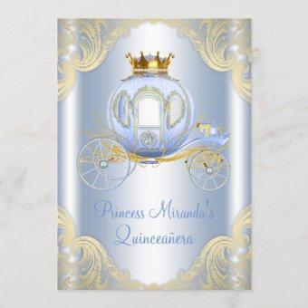Cinderella Blue Gold Princess