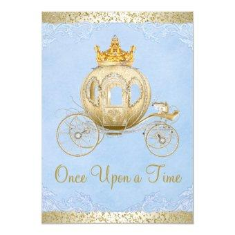 Cinderella Blue Once Upon a Time Princess Birthday