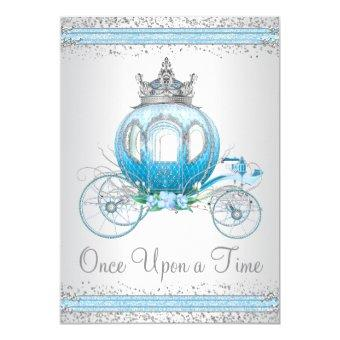 Cinderella Blue Princess Birthday Party