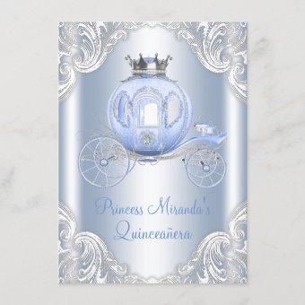 Cinderella Blue Silver Princess