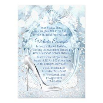 Cinderella Glass Slipper Any Number Birthday Party