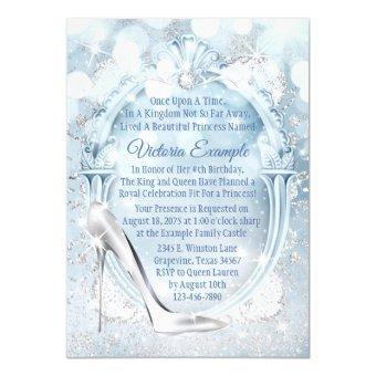 Cinderella Glass Slipper Birthday Party
