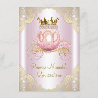 Cinderella Pink Gold Princess