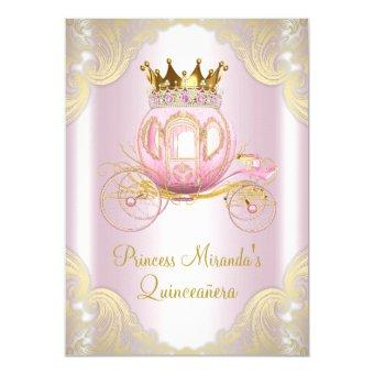 Cinderella Pink Gold Princess
