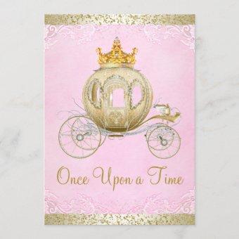 Cinderella Pink Once Upon a Time Princess Birthday