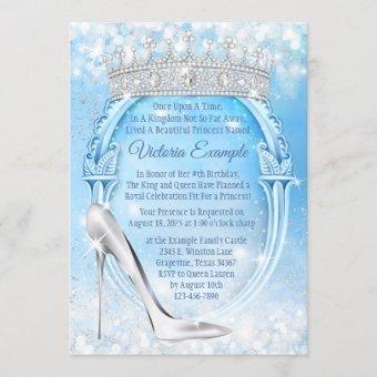 Cinderella Princess Glass Slipper