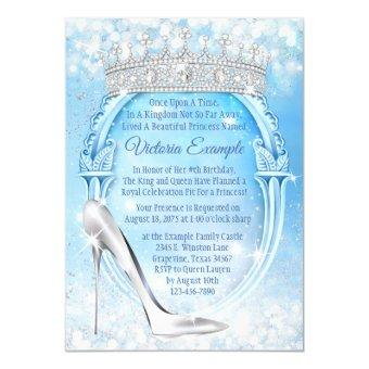 Cinderella Princess Glass Slipper