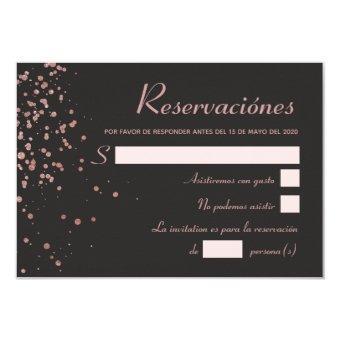 Confetti Spanish Reservaciónes