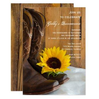 Country Sunflower Party