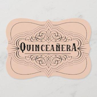 Custom Color Quinceañera South Western