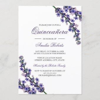 Elegant Purple Lavender