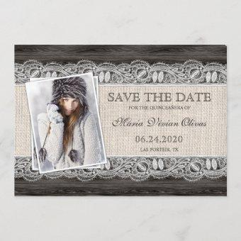Elegant Photo Save The Date