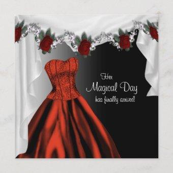 Elegant Red Rose