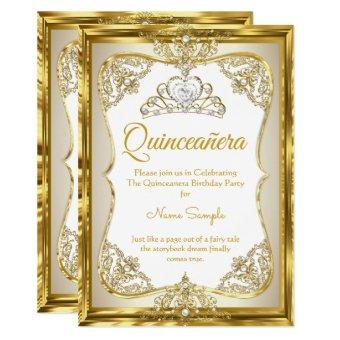 Elite Gold White beige Cream Princess