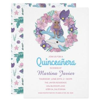 Fairy Tale Mermaid Quinceañera 15th Birthday