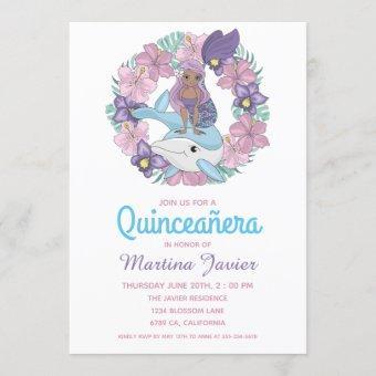 Fairy Tale Mermaid Quinceañera 15th Birthday
