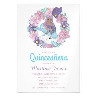 Fairy Tale Mermaid Quinceañera 15th Birthday Magnetic
