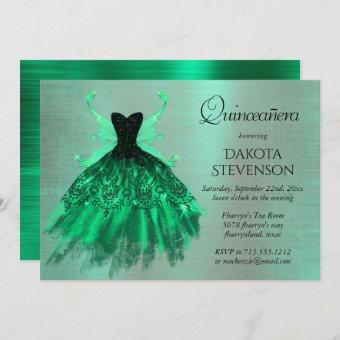 Fantasy Iridescent Green Pixie Dress
