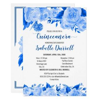Floral and Mass Royal Blue Roses