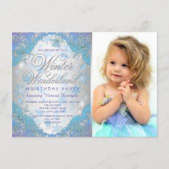Frozen Winter Wonderland Birthday Party