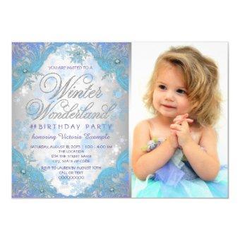 Frozen Winter Wonderland Birthday Party