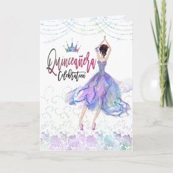 Glam Floral Lace Dancer blue Lilac