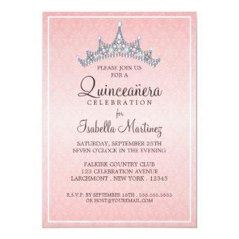 Quince Aos Invitations Quinceanera Invitations