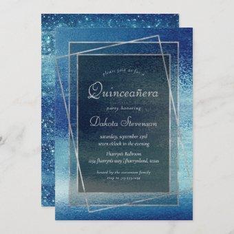 Glitzy Minimalist | Iridescent Blue