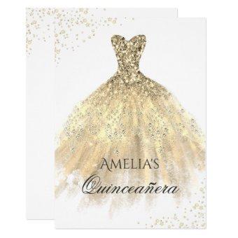 Gold Dress Sparkle