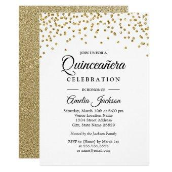 Gold Sparkle Confetti