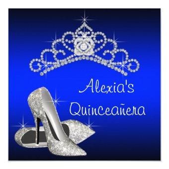 High Heels Tiara Royal Blue