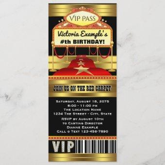 Hollywood Red Carpet Ticket Party