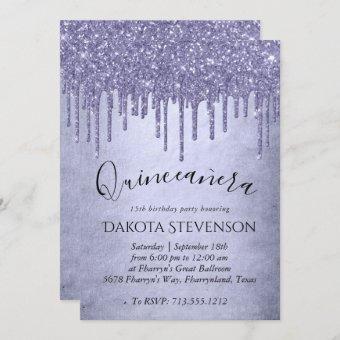 Lavender Drip | Chic Purple Icing Glam