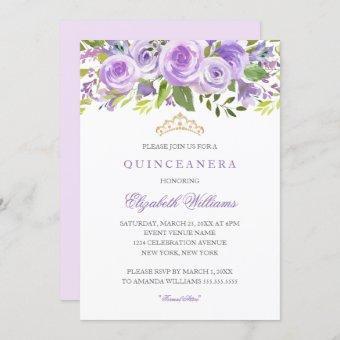 Lavender Floral Rose