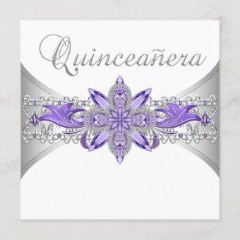 Lavender Purple Silver