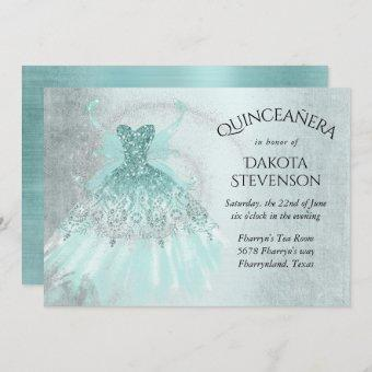 Luxe Fairy Wing Gown | Mint Green