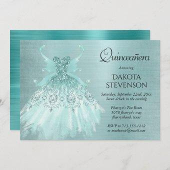 Luxe Fairy Wing Gown   Mint Green